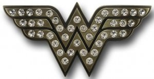 DC Comics Wonder Woman Rhinestone Belt Buckle