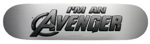 Marvel I'm An Avenger Skateboard