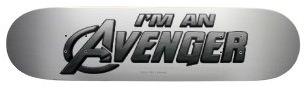 Marvel I'm An Avenger Skateboard