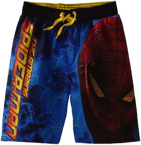 The Amazing Spider-Man Boys Board Shorts