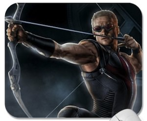 Marvel the Avengers Hawkeye Mousepad