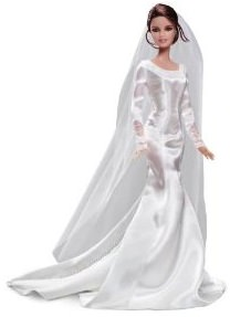 Twilight Bella in Wedding dress but now as Barbie doll