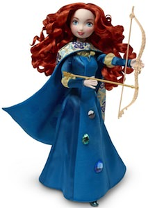 Merida as doll from the movie Brave