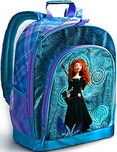 Brave Merida Glittery Backpack