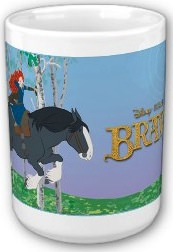 Brave Merida And Angus Mug