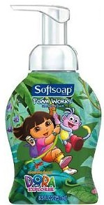 Dora The Explorer Hand Soap Pump
