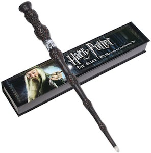 Harry potter dumbledore 39 s illuminating elder wand for Light up elder wand