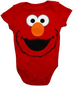 Elmo Baby Bodysuit From Sesame Street