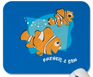 Finding Nemo Father & Son Mousepad