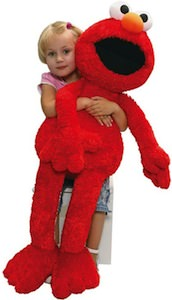"Sesame Street 41"" tall Elmo plush"