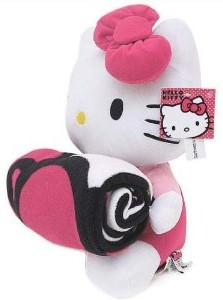 Hello Kitty Plush Doll With Fleece Blanket