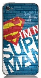 Superman Graffiti iPhone Case