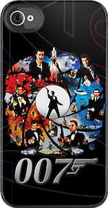 James Bond iPhone and iPod touch case