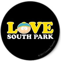Love Southpark sticker