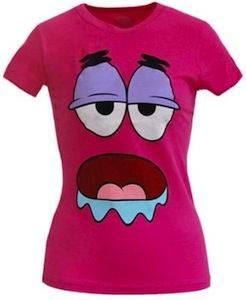 Patrick Star Drooling T-Shirt