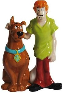 Scooby-Doo Salt And Pepper Shaker Set