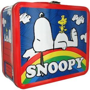 Snoopy And Woodstock Rainbow Lunch Box