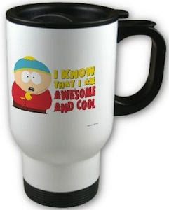 South Park Cartman Travel Mug