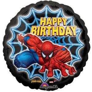 Spider-Man Happy Birthday Balloon