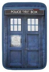 Doctor Who Tardis laptop and iPad sleeve