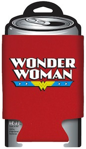 Wonder Woman logo Can Koozie