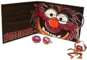 The Muppets Animal Wallet Keyring And Cufflinks