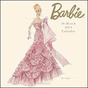 Barbie 2013 Wall Calendar