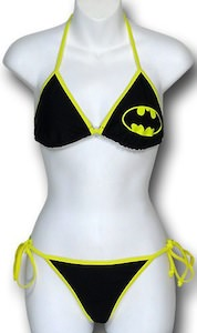 Batman Logo Bikini