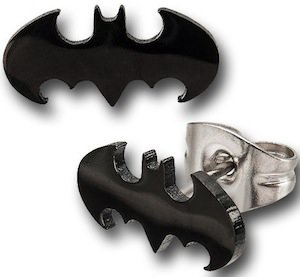 Batman Die-Cut Logo Earrings