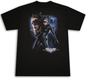 Batman The Dark Knight Rises Catwoman T-Shirt