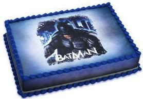 Batman Edible Cake Topper Image