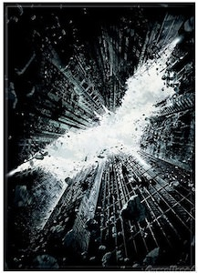 Batman The Dark Knight Rises Crumbling City Magnet