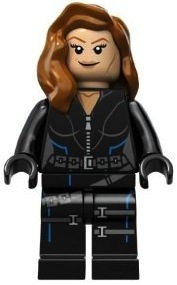 Black Widow LEGO Minifigure