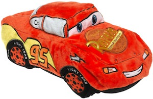 Cars Lightning McQueen Cuddle Pillow