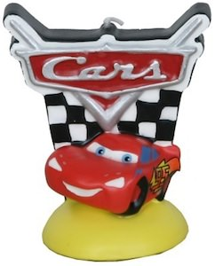 Cars Lightning McQueen Birthday Candle