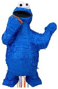 Sesame Street Cookie Monster Pinata