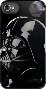 Star Wars Darth Vader And Death Star iPhone And iPod Touch Case