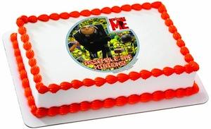 Despicable Me Edible Cake Topper