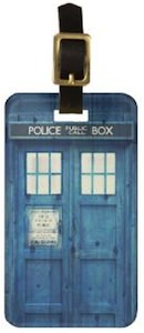 Doctor Who Tardis Luggage Tag
