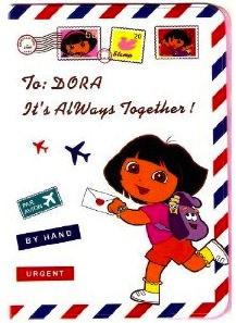 Dora The Explorer Airmail Passport Cover