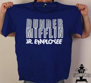 The office Dunder Mifflin Jr Employee T-Shirt