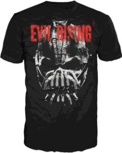 The Dark Knight Rises Evil Rising Bane Face T-Shirt