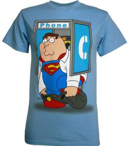Family Guy Peter Phone Booth T-Shirt.