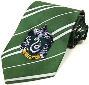 Harry Potter Slytherin Necktie