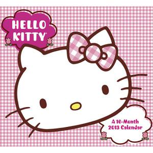Hello Kitty 2013 Wall Calendar