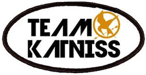 The Hunger Games Team Katniss Patch