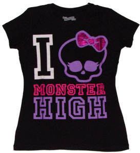 Monster High I Love Monster High T-shirt