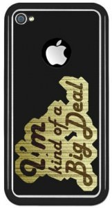 Anchorman 'Im Kind Of A Big Deal iPhone Case.