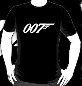 James Bond 007 t-shirt