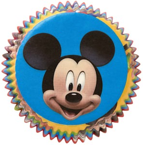 Mickey Mouse Cupcake baking cups